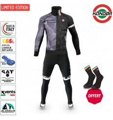 BJORKA WINTER CYCLING SET KONDOR ITALY THERMAL JACKET + TIGHTS 2022