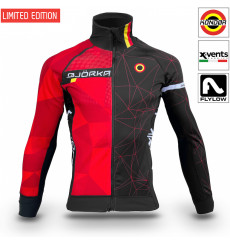 BJORKA veste thermique vélo hiver Kondor Belgium 2022