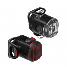 LEZYNE FEMTO USB Drive front and rear bike lights