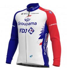 GROUPAMA FDJ long sleeve bike jersey 2021