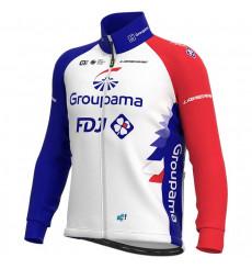 GROUPAMA FDJ veste vélo hiver Prime 2021