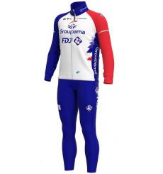 GROUPAMA FDJ winter cycling set 2021
