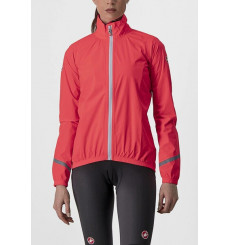 CASTELLI veste de cyclisme femme Emergency 2 Rain rose 2022