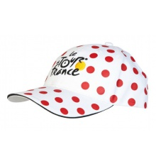 TOUR DE FRANCE casquette FAN à pois 2018