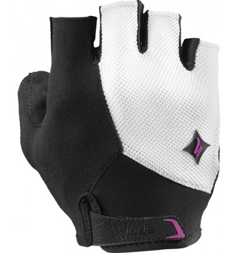 SPECIALIZED women's Sport white pink gloves 2017