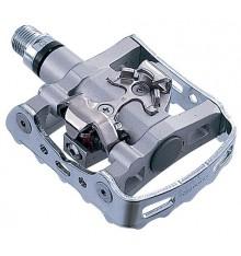 Shimano MTB PD M324 silver pedals